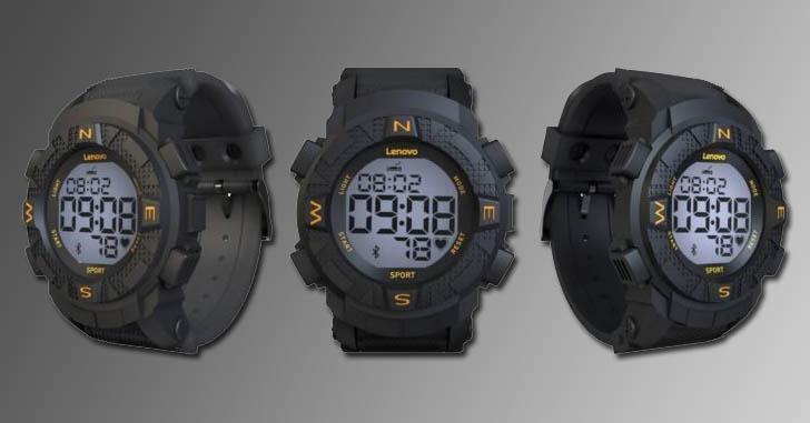 Спортивные смарт-часы Lenovo Ego оценили в $29