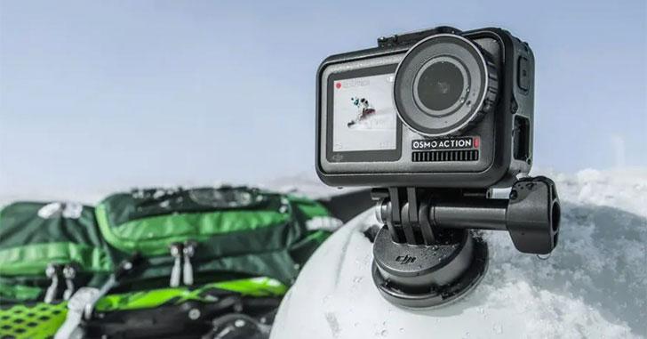 Экшен-камера DJI Osmo Action получила два дисплея