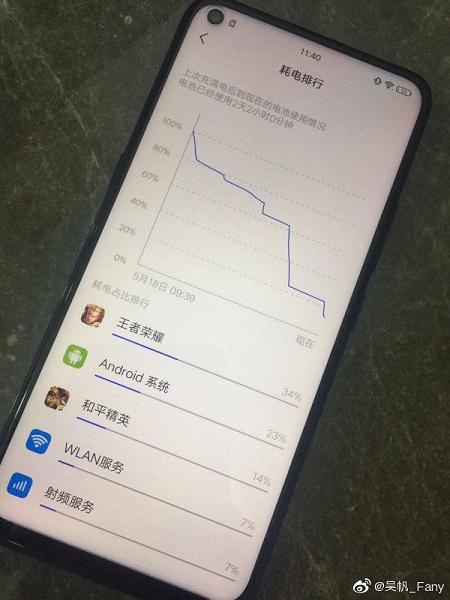 Смартфон Vivo Z5x порадует своей автономностью