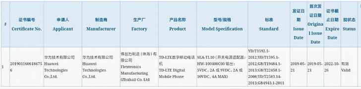 Смартфон Huawei Nova 5 получил быструю зарядку на 40 Вт