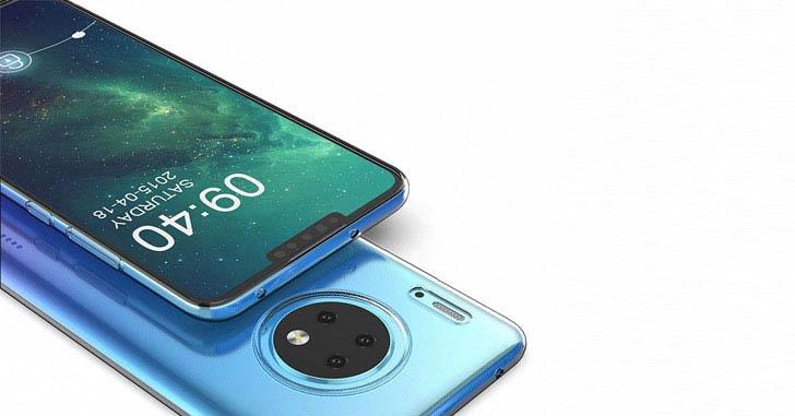 Опубликованы качественные рендеры Huawei Mate 30