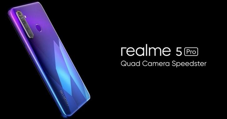 Анонсирован Realme 5 Pro: Snapdragon 712 и пять камер за 195 долларов