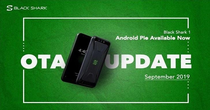 Xiaomi Black Shark получил Android Pie