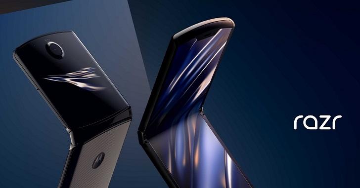 Сгибаемый смартфон Motorola Razr представлен официально