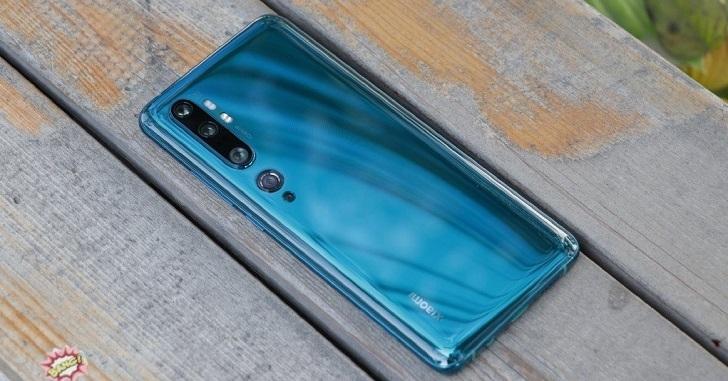Xiaomi Mi Note 10 уже можно купить в Украине