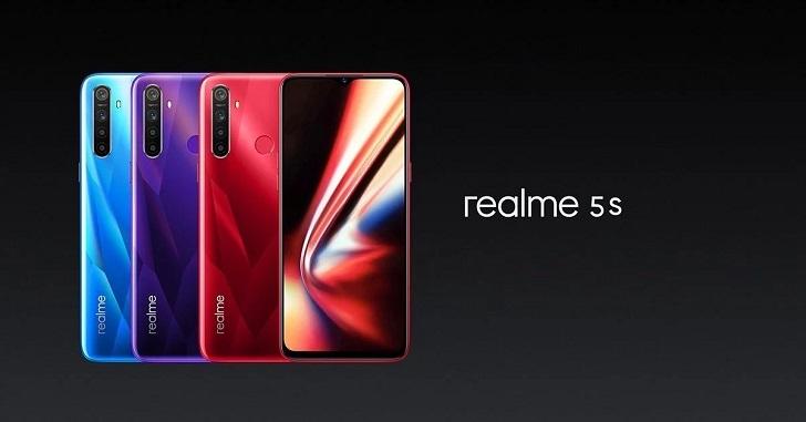 Анонсирован Realme 5s – главный конкурент для Redmi Note 8