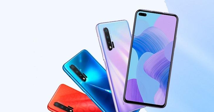 Huawei Nova 6 и Nova 6 5G представлены официально