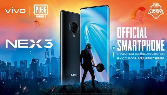 Vivo NEX 3 - лучший игровой инструмент на мировом финале  PUBG MOBILE Club Open 2019 Fall Split