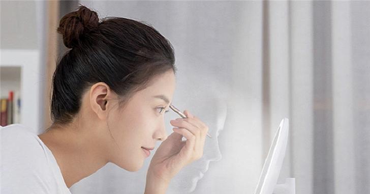 Xiaomi анонсировала портативное зеркало Mijia LED за 15 долларов