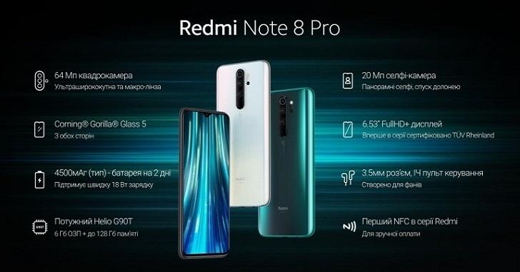 Xiaomi Redmi Note 8 Pro подешевле второй раз за три дня