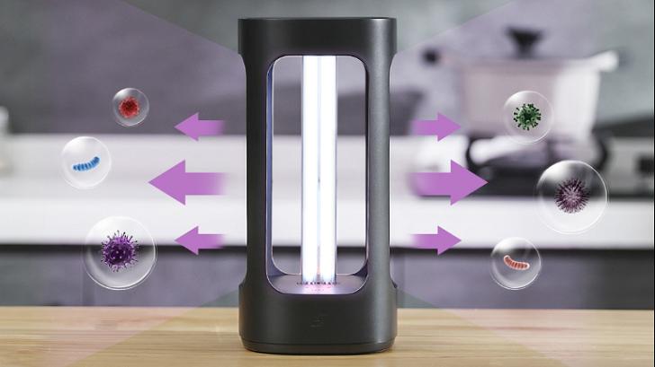 Xiaomi представила ультрафиолетовую лампу за 20 долларов