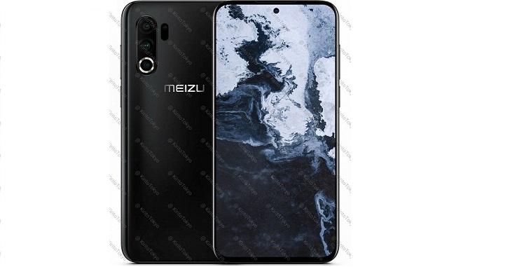 Опубликован новый рендер Meizu 17