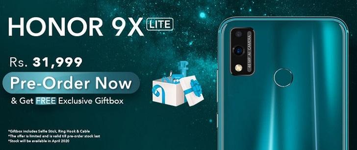 Появились характеристики и цена Honor 9X Lite