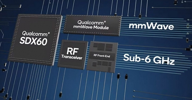 Qualcomm анонсировала первый в мире 5-нанометровый модем Snapdragon X60