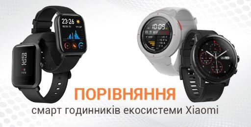 Сравнение смарт-часов экосистемы Xiaomi