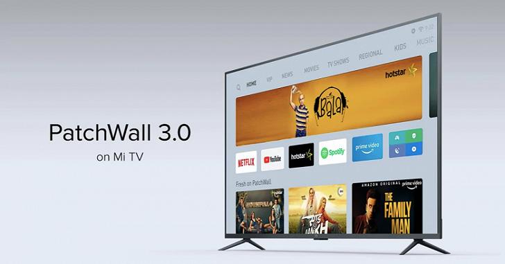 Xiaomi выпустила прошивку PatchWall 3.0 для своих телевизоров