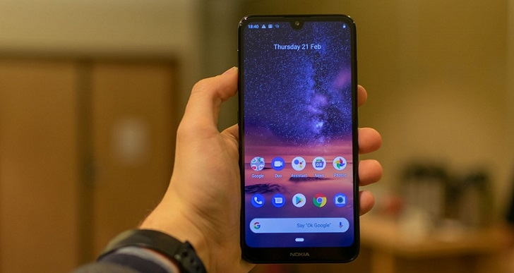Nokia 3.2 получил Android 10
