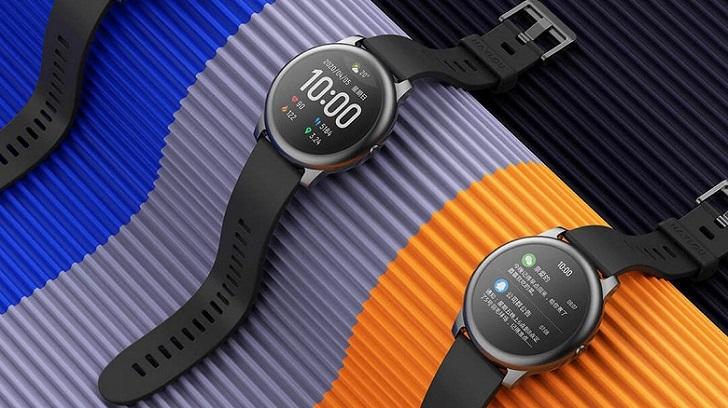 Смарт-часы Haylou Solar LS05 за 25 долларов работают 30 дней без подзарядки