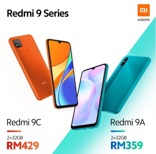 Представлены Redmi 9A и Redmi 9C всего за 2000 гривен