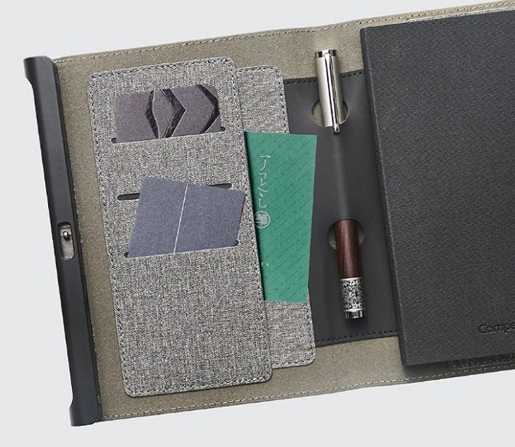 Xiaomi анонсировала записную книжку со сканером отпечатков пальцев