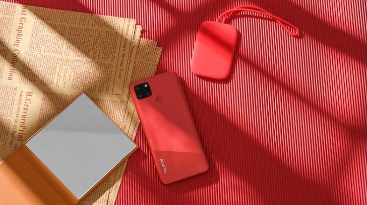 Realme C12 представлен официально