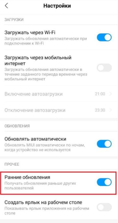Включите эти настройки и получите MIUI 12.5 раньше на смартфон Xiaomi