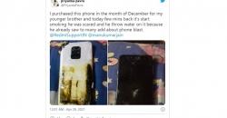 Xiaomi Redmi Note 9 Pro сгорел у пользователя в руках