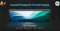 Xiaomi Mi 11X и Mi 11X Pro оборудованы лучшими экранами на рынке