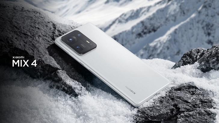 Xiaomi Mi Mix 4 представлен официально: первый в мире смартфон на Snapdragon 888+